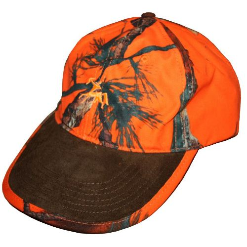 Casquette camouflage orange verney carron cap ghost