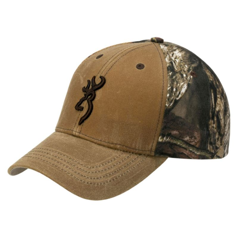 Casquette de chasse browning opening day wax rtx marron camo