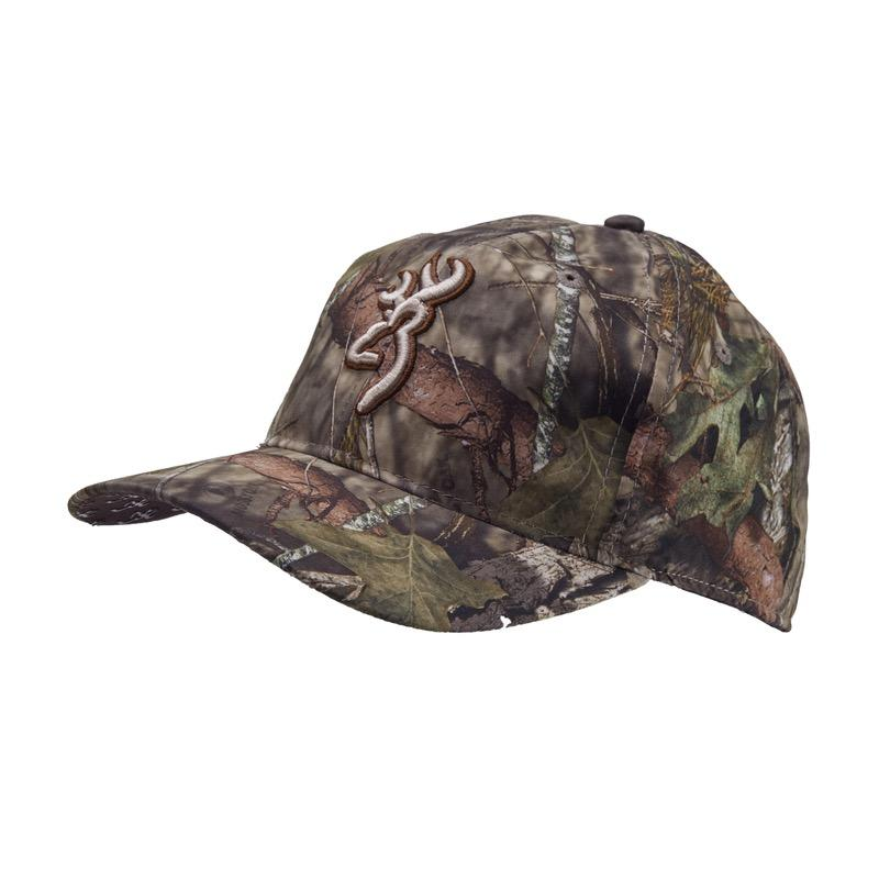 Casquette de chasse camouflage browning facemask mobuc1