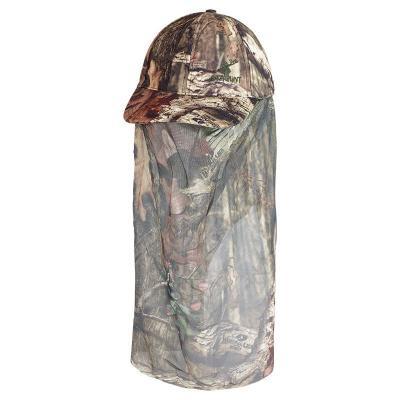 Casquette face mask stagunt mesh cap camo avec filet visage