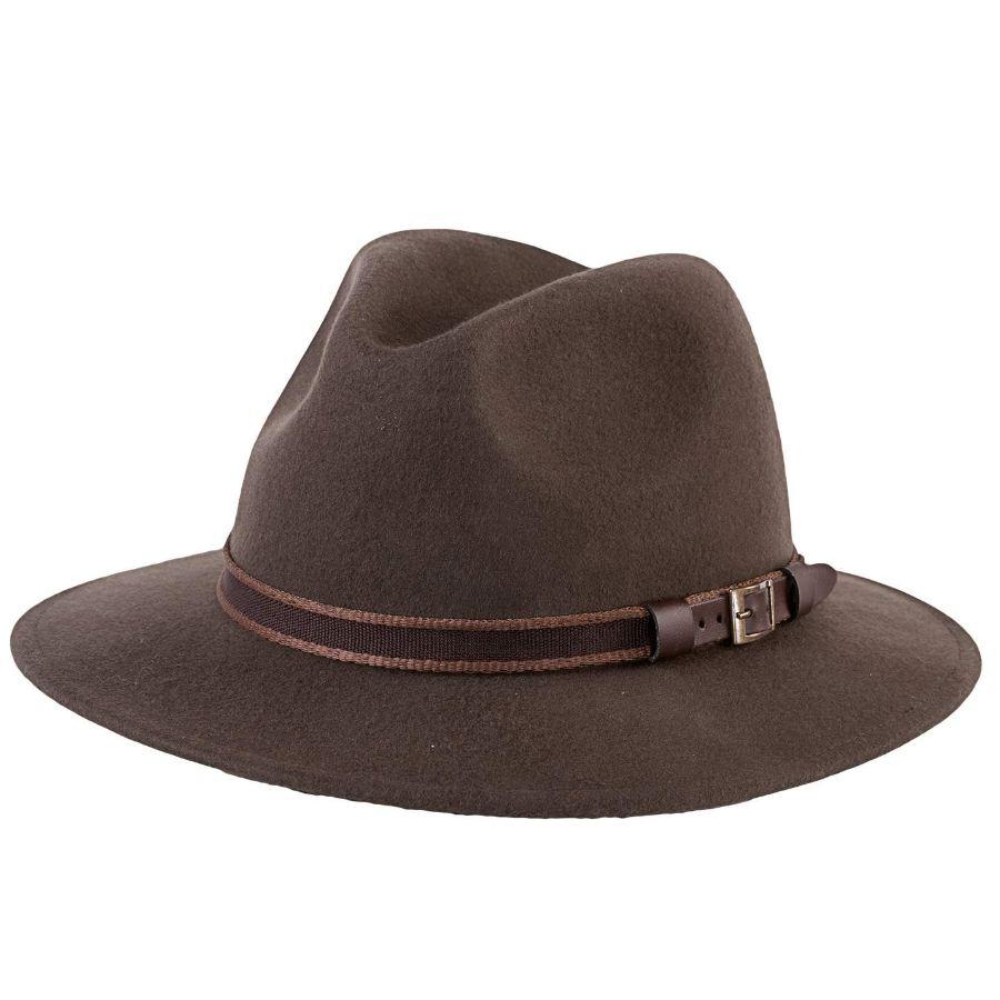 Chapeau de chasse browning classic woole en feutre de laine