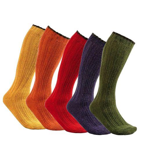Chaussette en laine club interchasse natun courte 5 couleurs