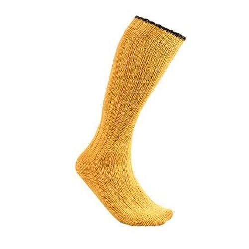 Chaussette en laine club interchasse natun jaune courte 5 couleurs