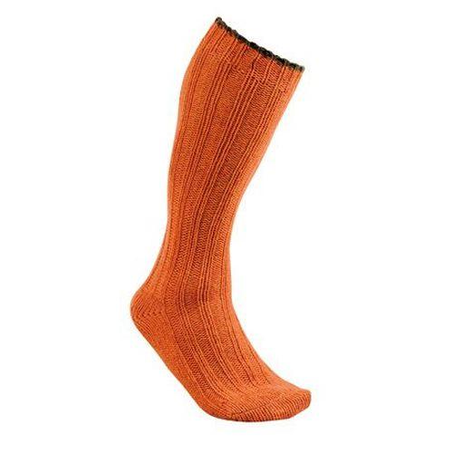 Chaussette en laine club interchasse natun orange courte 5 couleurs