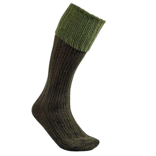 Chaussette knickers en laine chaude club interchasse natun kaki