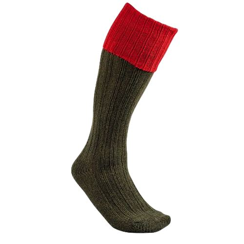Chaussette knickers en laine chaude club interchasse natun rouge