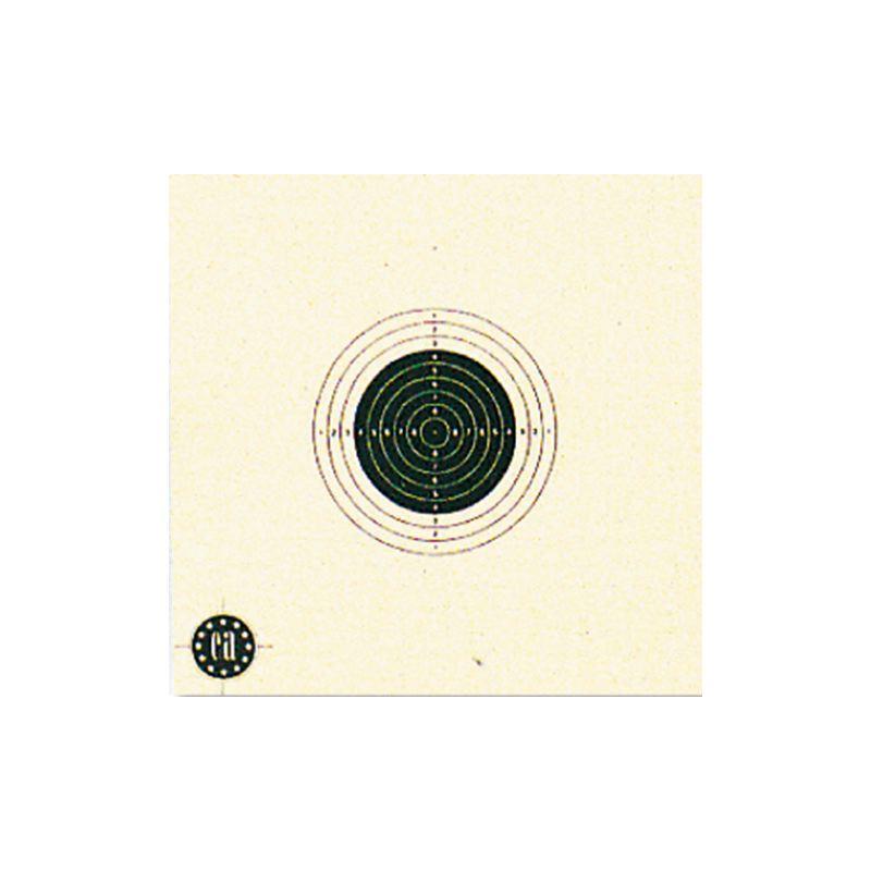 Cible carton 10x10 x 1000 pour tir carabine air comprime 10m