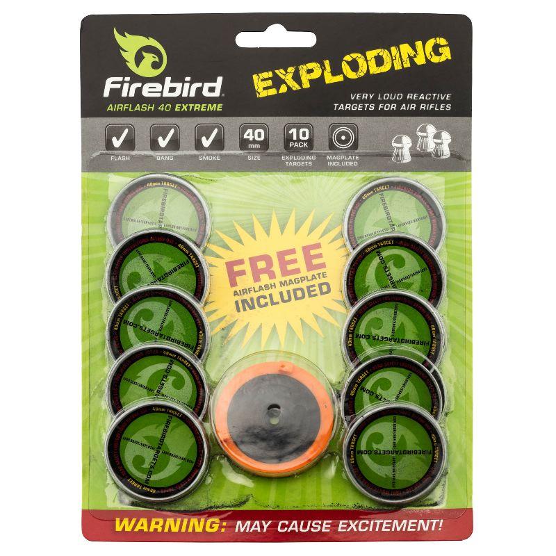 Cible explosive pour air comprime firebird airflash extreme