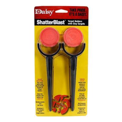 Cibles Daisy piquets avec plateaux d'argile