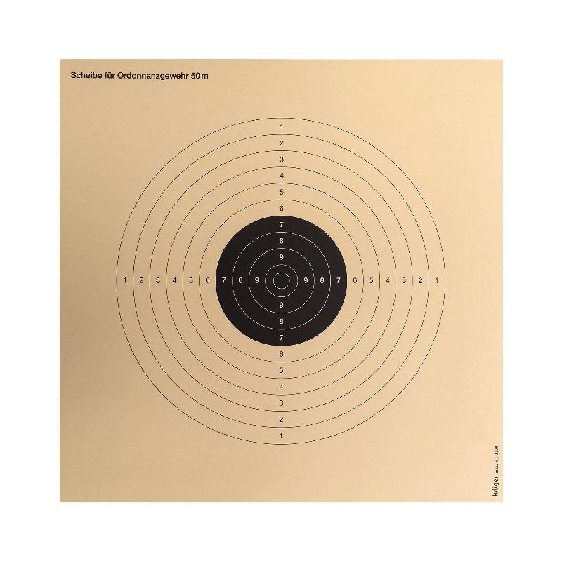 Cibles t a r x 250 tir aux armes re glementaires 34x34 x 250