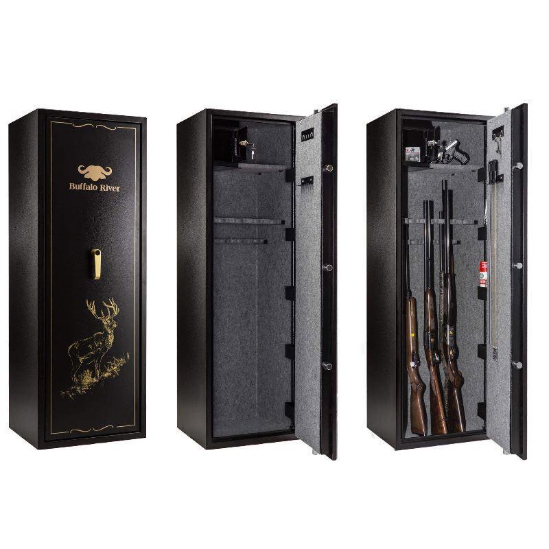 Coffre fort Buffalo River Premium 18 armes ouverture 1 clé