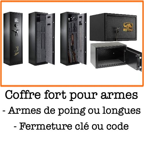 Coffre fort arme chasseur et compagnie