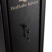 Coffre fort armoire blinde e de 5 armes longues buffalo river