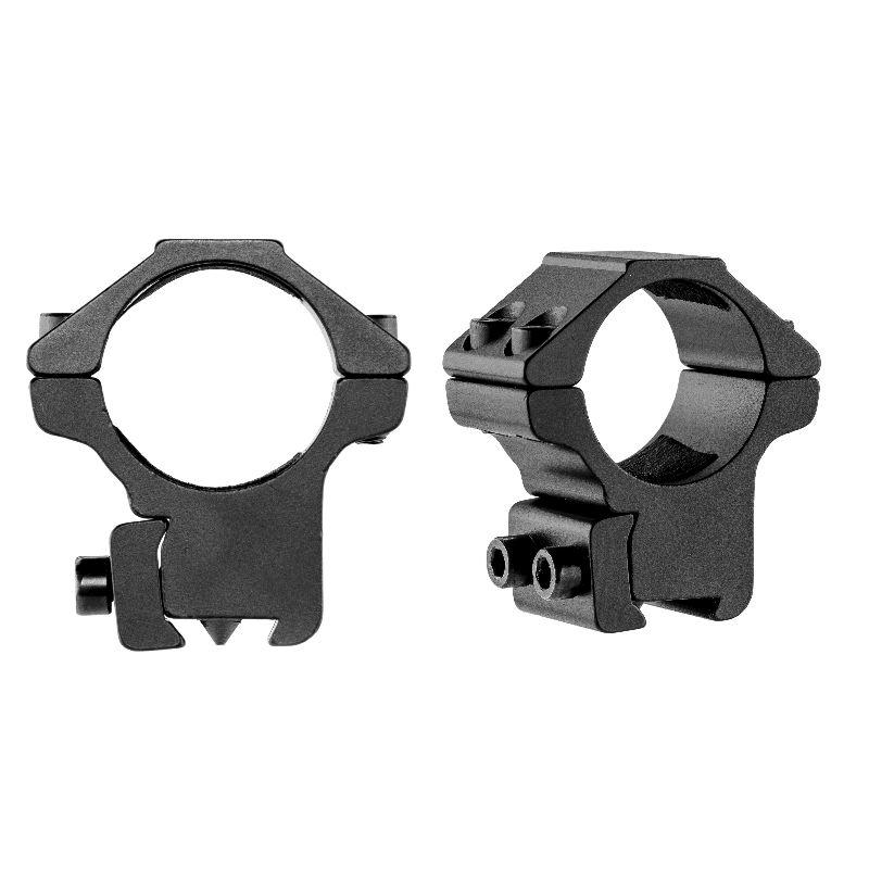 Collier de montage bas pour lunette 25 4mm sur rail de 11mm 1