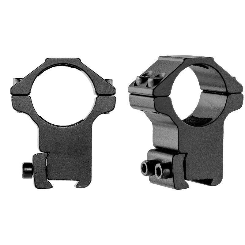 Collier de montage haut pour lunette 25 4mm sur rail de 11mm 1