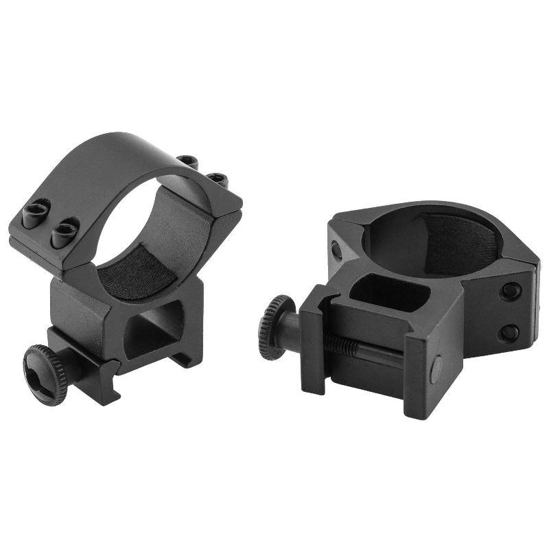 Collier de montage haut pour lunette 30mm sur rail de 21mm