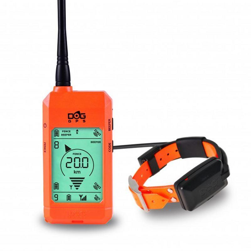 Collier GPS sans abonnement Dog Trace X20 orange