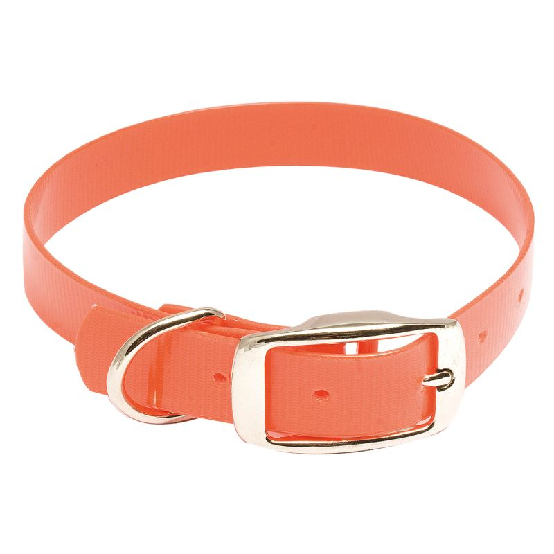 Collier pour chien extra solide hiflex country orange fluo