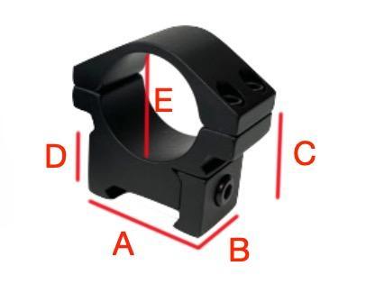 Colliers de montage shilba dimensions