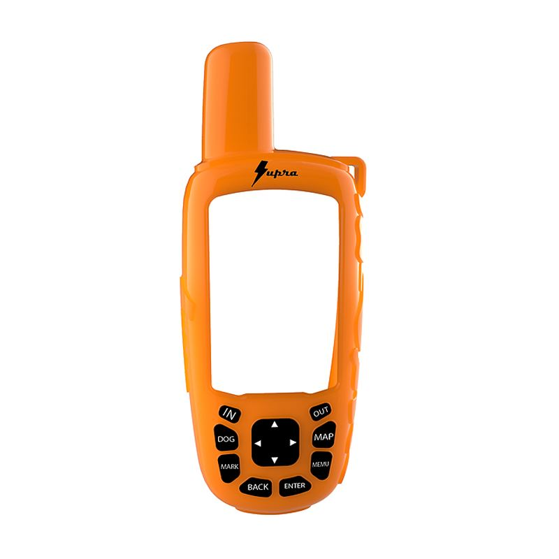 Coque silicone orange supra pour garmin astro a 320 et a 50