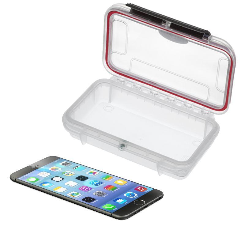 Coque transparente smartphone waterproof ip67 157 x 82 x 41