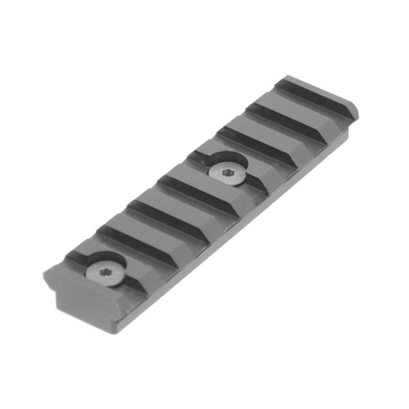 Creation rail picatinny pour keymod longueur 8cm utg leapers