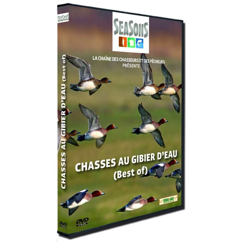 Dvd best of chasses au gibier d eau seasons ref 238 pas cher
