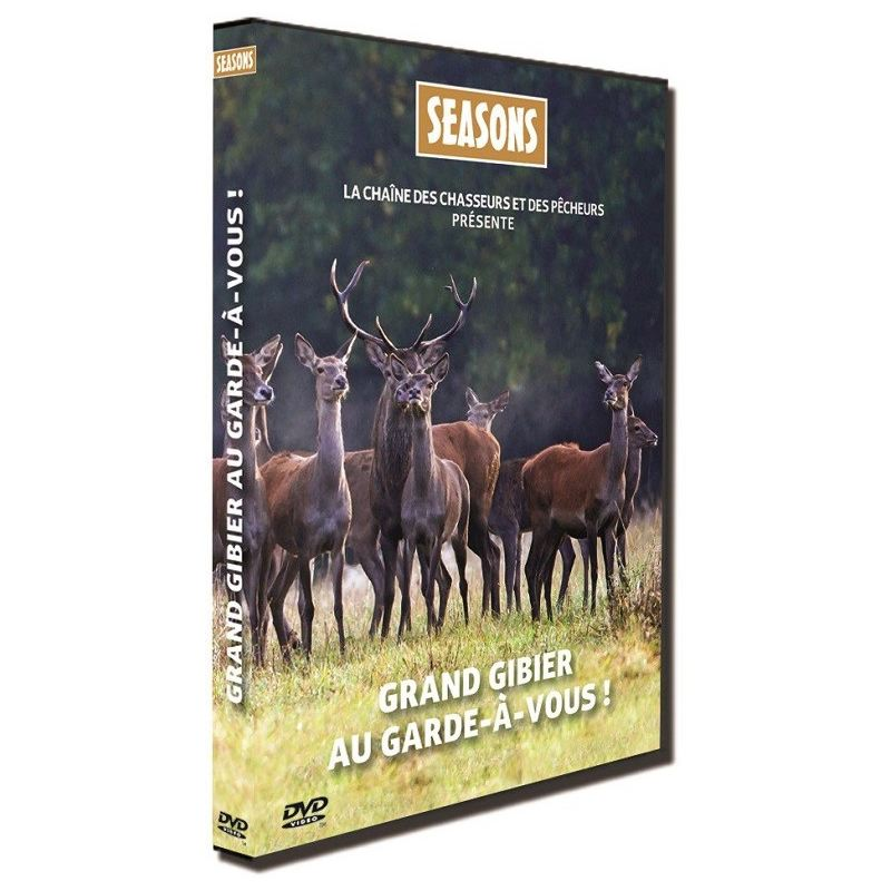 Dvd chasse grand gibier au garde a vous seasons ref 263