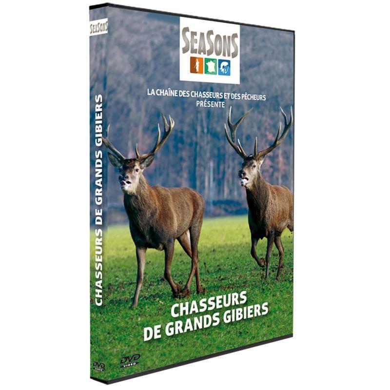 Dvd chasseurs de grands gibiers seasons 246 cerf biche
