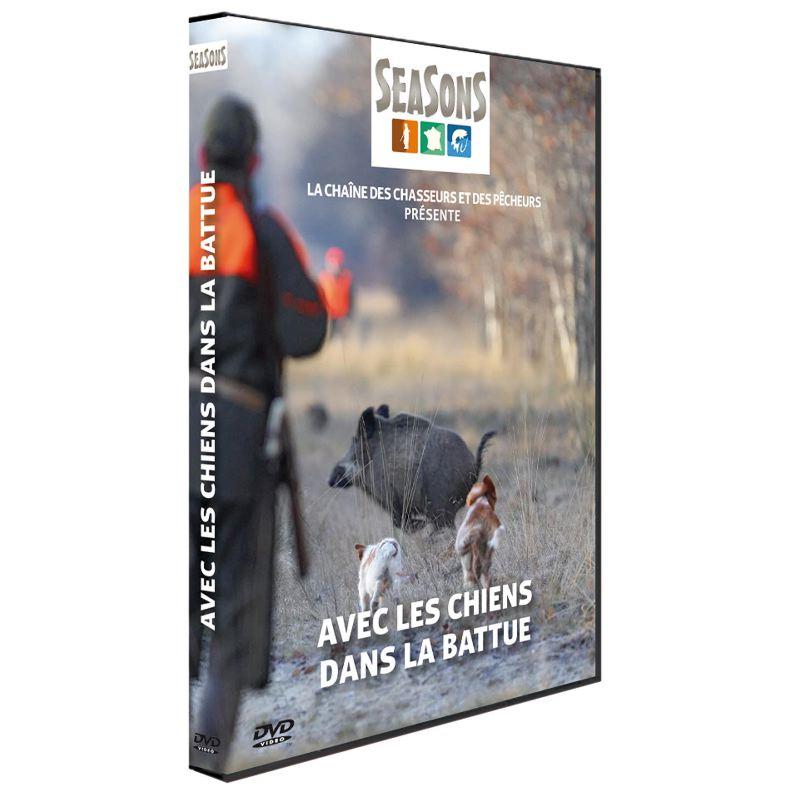 Dvd de chasse avec les chiens dans la battue seasons 259