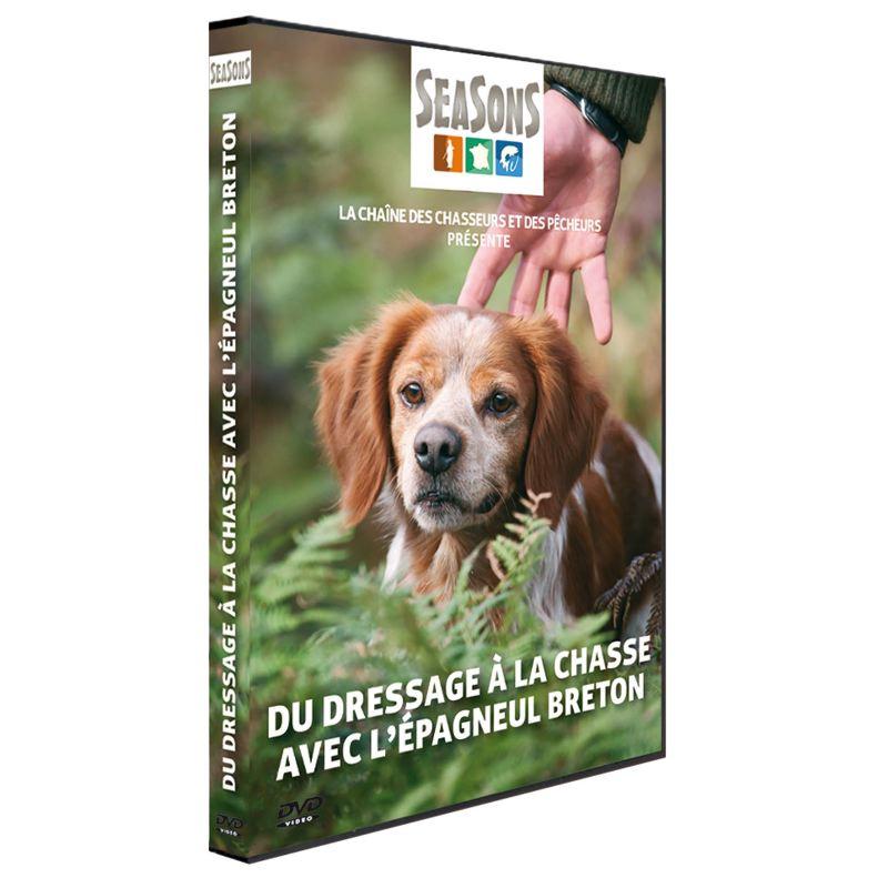 Dvd dressage a la chasse avec l e pagneul breton seasons 247