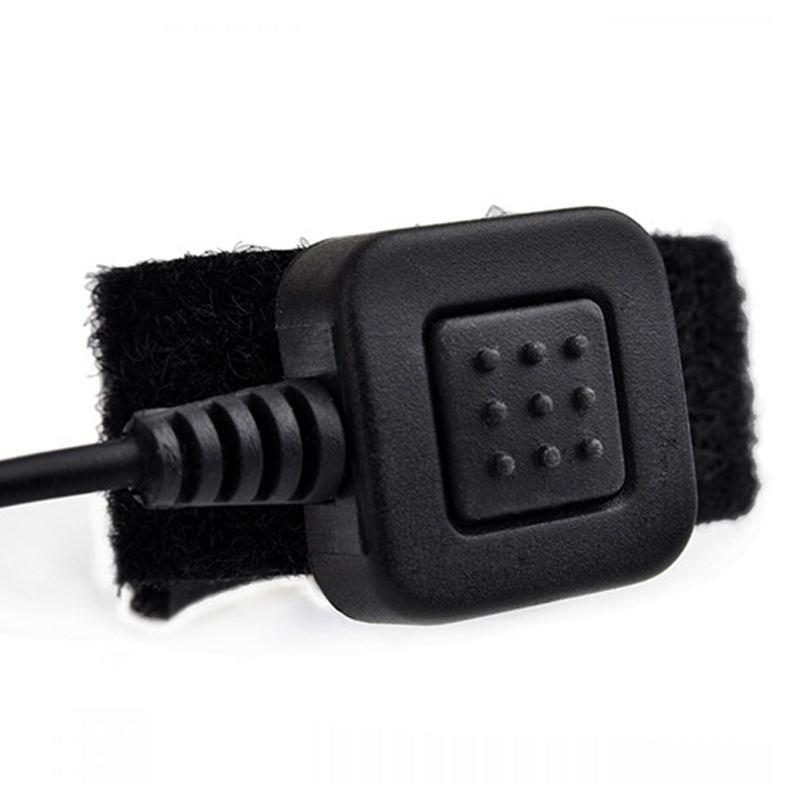 Earmor bouton de porte ptt m50 pour casque avec micro m32