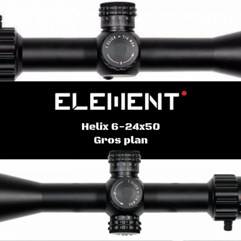 Element optics helix 6 24x50