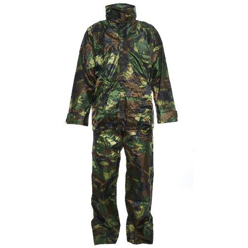 Ensemble de pluie camouflage pantalon et veste pas cher
