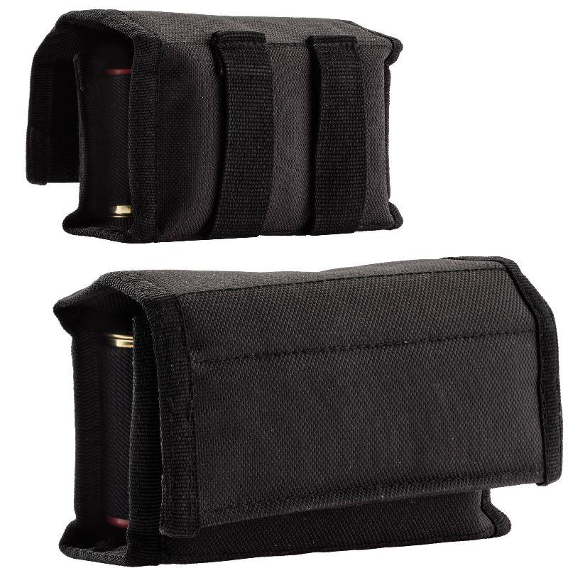 Etui cartouchie re de ceinture noir pour cartouche 12 ou 22