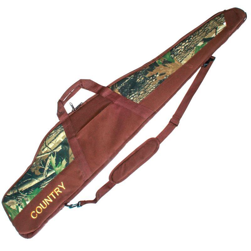 Fourreau a carabine de chasse country sellerie marron camo