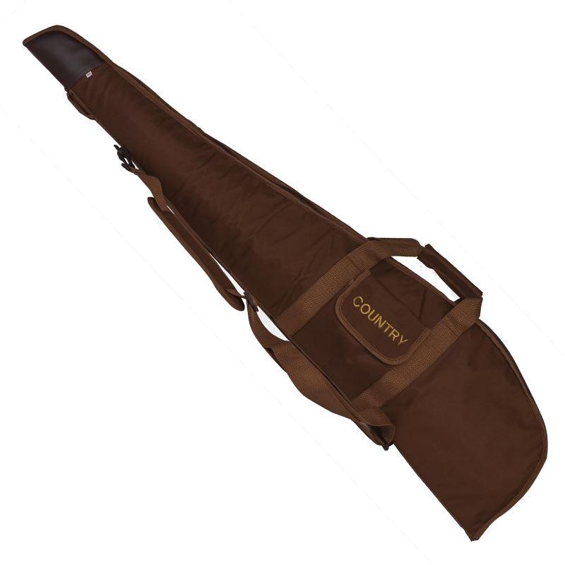 Fourreau a carabine en nylon marron country sellerie 120 cm