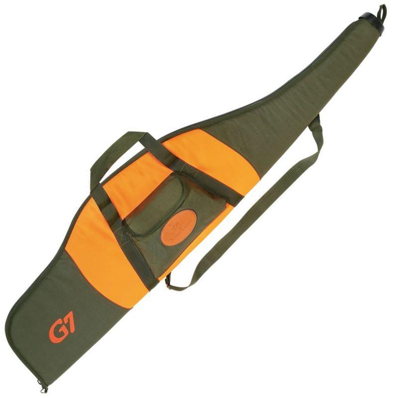 Fourreau a carabine verney carron g7 120 cm orange et vert 1