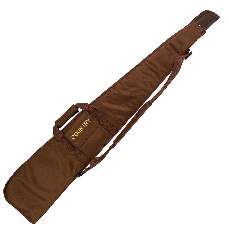 Fourreau a fusil 130 cm country sellerie en nylon marron