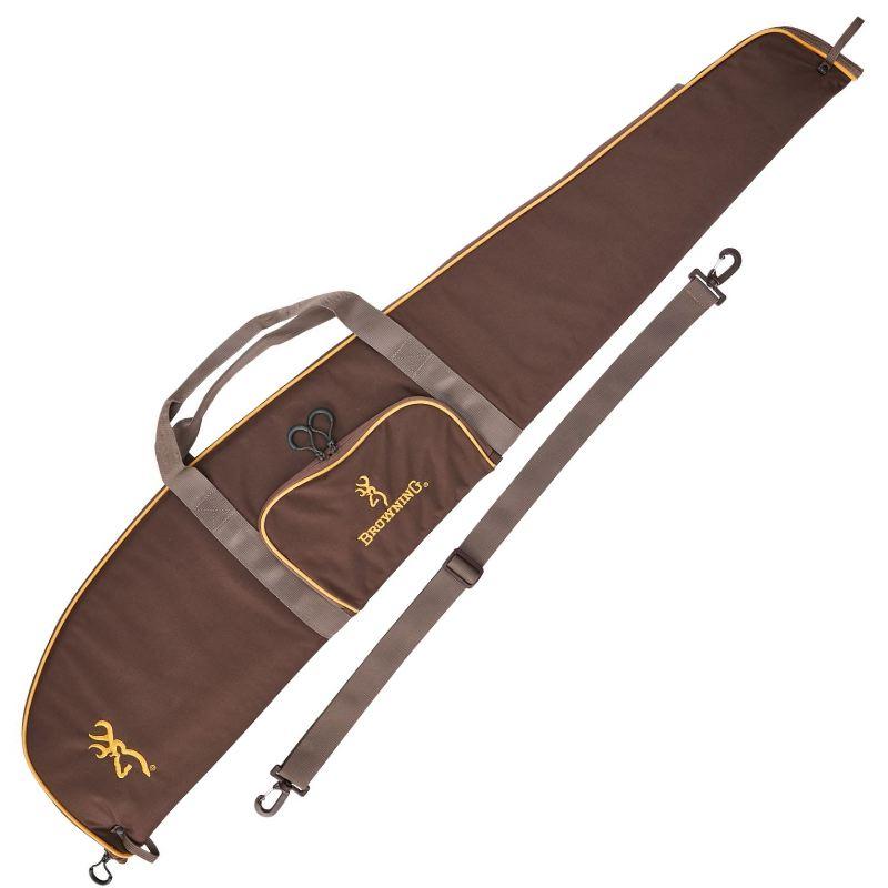 Fourreau carabine 122 cm browning hunter brun avec bretelle
