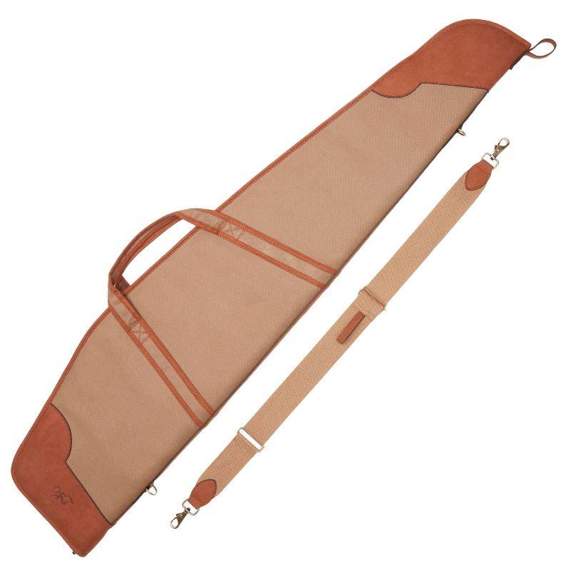 Fourreau carabine avec lunette 124 cm browning elite en cuir ve ritable