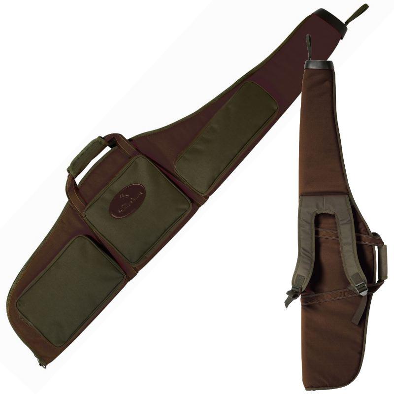 Fourreau carabine bretelles verney carron allos marron