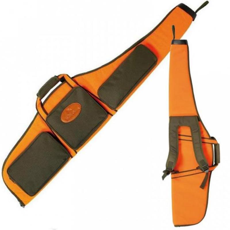 Fourreau carabine bretelles verney carron allos orange vert