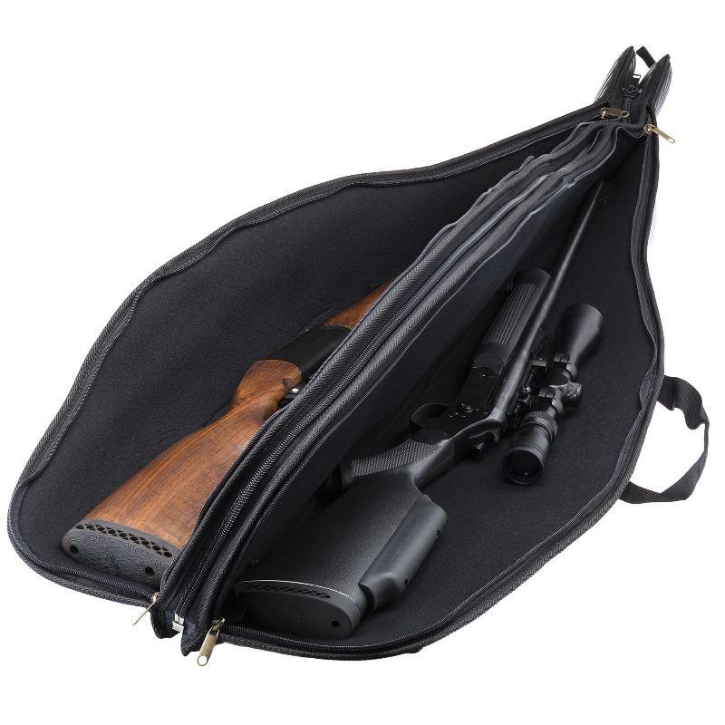 Fourreau double pour 2 carabines de chasse country sellerie