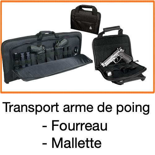 Fourreau et mallette arme de poing2