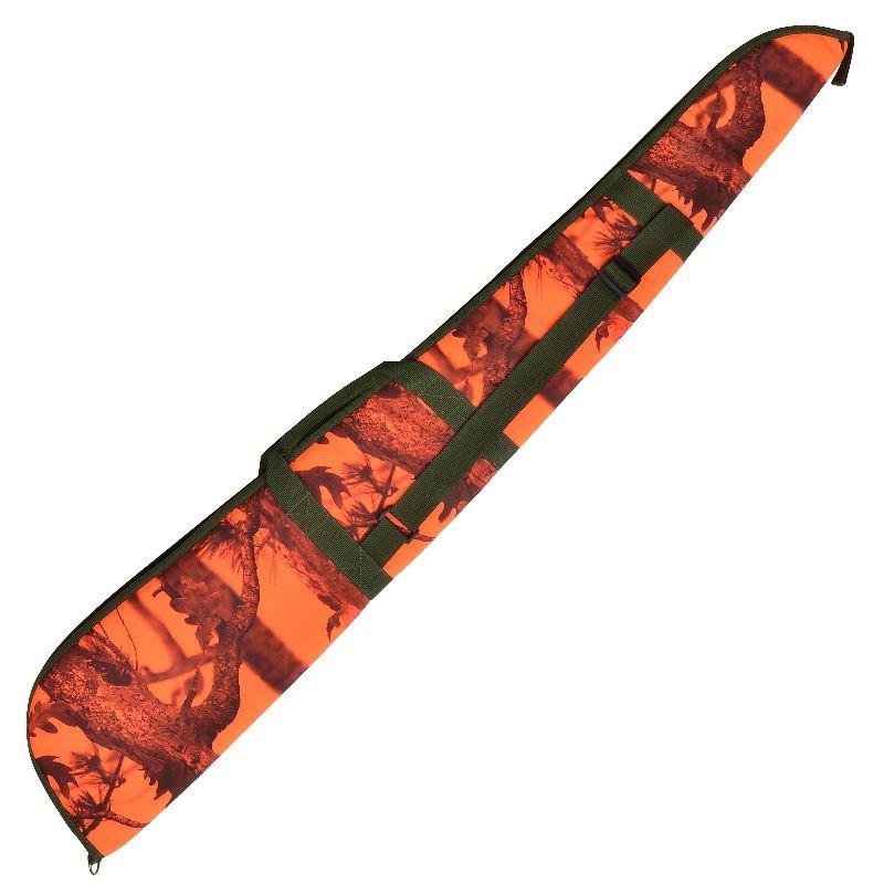 Fourreau fusil 130 cm percussion ghostcamo camouflage orange