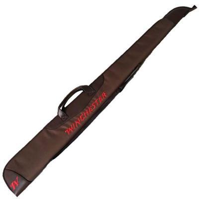 Fourreau fusil 132 cm winchester hunter marron et rouge