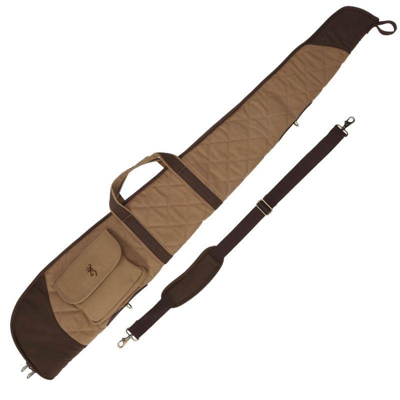 Fourreau pour fusil 132 cm browning field marron en canvas