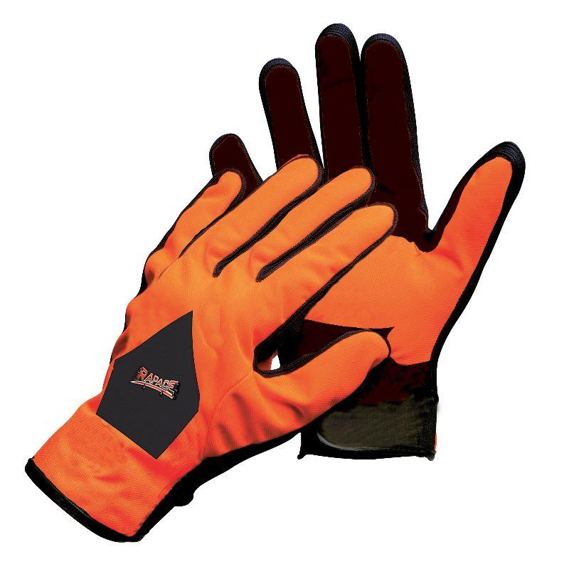 Gant de chasse a la traque orange verney carron rapace