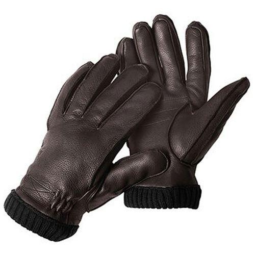 Gant de chasse cuir de cerf pour temps froid ouverture index chasseur et compagnie
